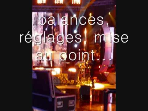 journée à Paris sur plateau télé.