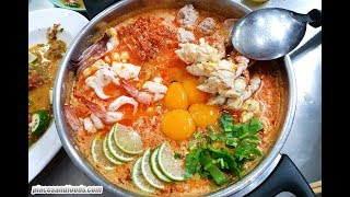 Jeh Oh Chula Bangkok Massive Tom Yum Mama Noodle Thai Street Food Michelin Guide