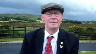 An Irish Poem, The Cremation of Sam McGee, by Johnny Mc Kearney.