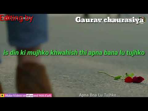 New WhatsApp status video editing by Gaurav Chaurasiya
