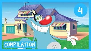 Oggy and the Cockroaches - Oggy's House Compilation 1H in HD(Enjoy 1 hour of full episodes of Oggy and the Cockroaches! To subscribe to Oggy Channel, click here: https://www.youtube.com/channel/UCNEK... Oggy in other ..., 2015-03-27T21:07:39.000Z)
