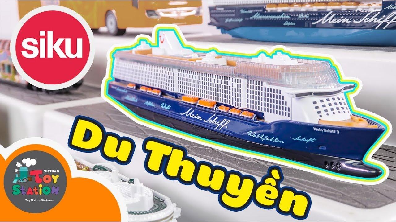 Những mẫu SIKU Super hạng nặng xe buýt và du thuyền tuyệt đẹp ToyStation 371