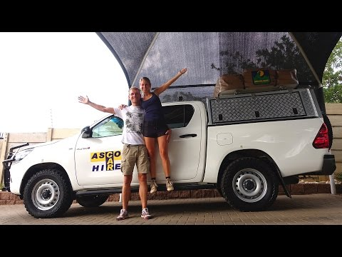 Unser neues zu Hause in Namibia - Mietwagen von Asco Car Hire abholen | VLOG #168