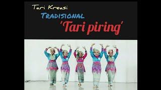 Tari Kreasi Tradisional ( Tari Piring)
