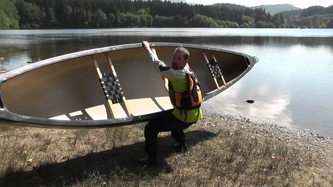 How to Carry a Canoe - Solo