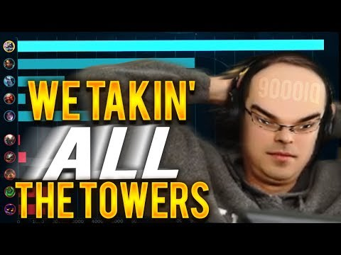 WE GOT HALF THEIR KILLS BUT ALL THE TOWERS!!!! - Trick2G