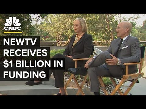 Meg Whitman And Jeff Katzenberg On New Streaming TV Venture | CNBC