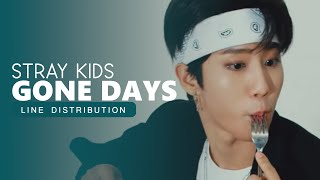 Gambar cover STRAY KIDS · Gone Days (Line Distribution)