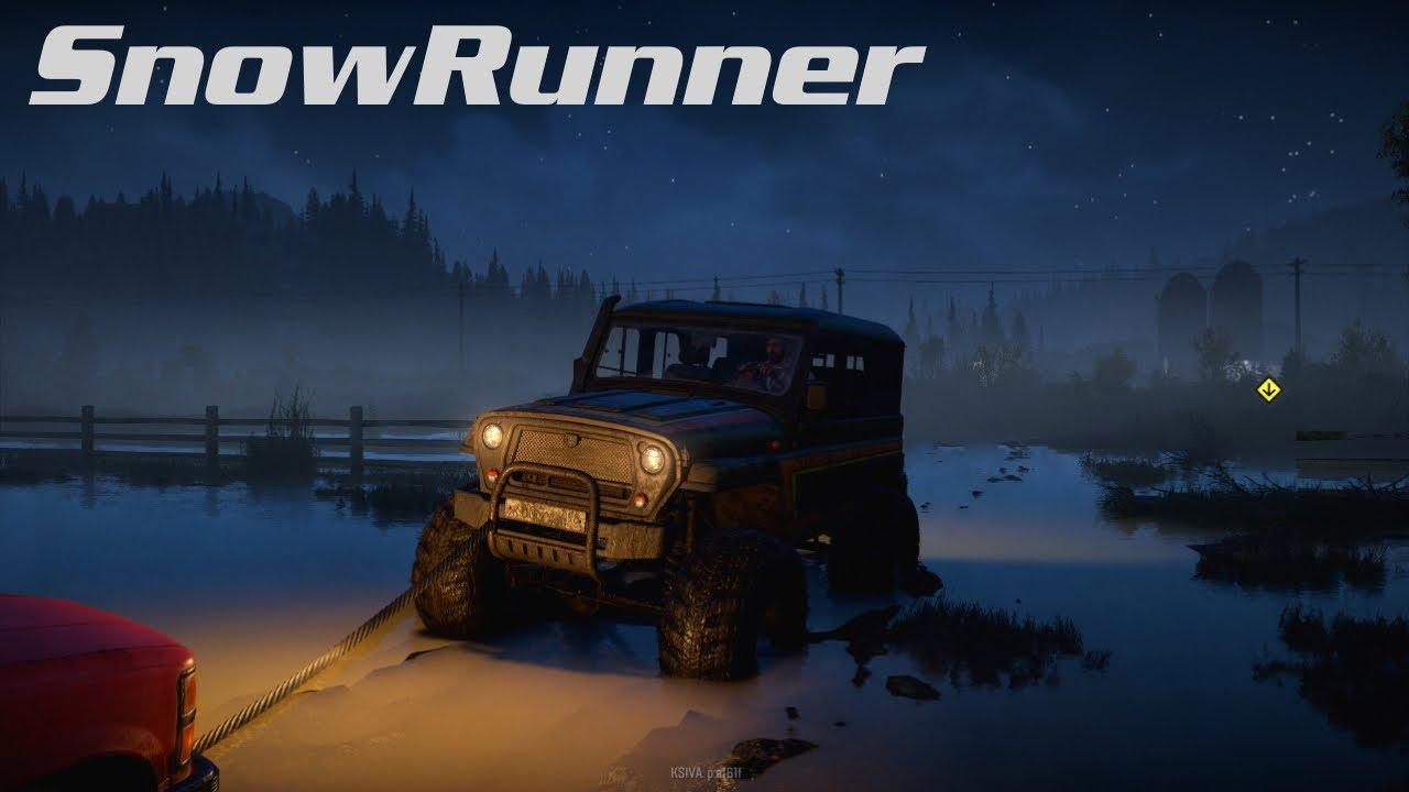 SNOWRUNNER | #02 | Bergung eines versunkenen Jeeps