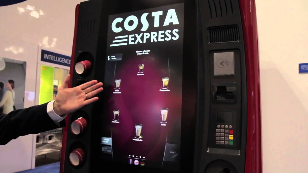 Premium Coffee Kiosk Replaces Baristas   YouTube Images