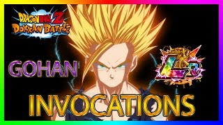 Dokkan Battle | INVOCATIONS GOHAN LR