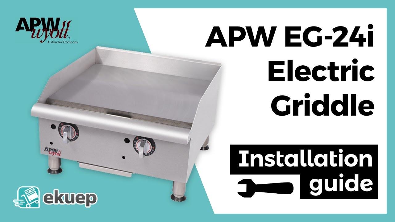 griddle electric avantco countertops product countertop