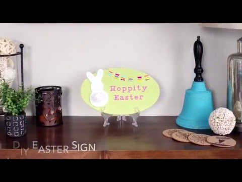 Festive and Fun DIY Easter Sign