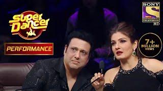 "Ritik And Pratik's Act On ""Jiyo Re Baahubali"" Amazes Govinda And Raveena | Super Dancer Chapter 2"