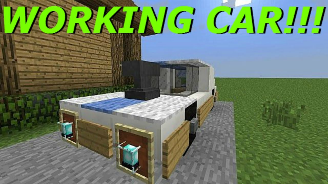 Minecraft ps3 ps4 xbox wii u working car with slime blocks minecraft ps3 ps4 xbox wii u working car with slime blocks slime block car easy tutorial youtube ccuart Image collections