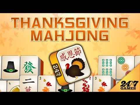 Thanksgiving Mahjong - YouTube
