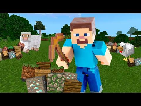 Сборник видео - Майнкарфт для новичков с Нубом и Про! Как построить дом в Minecraft? – Игры онлайн.
