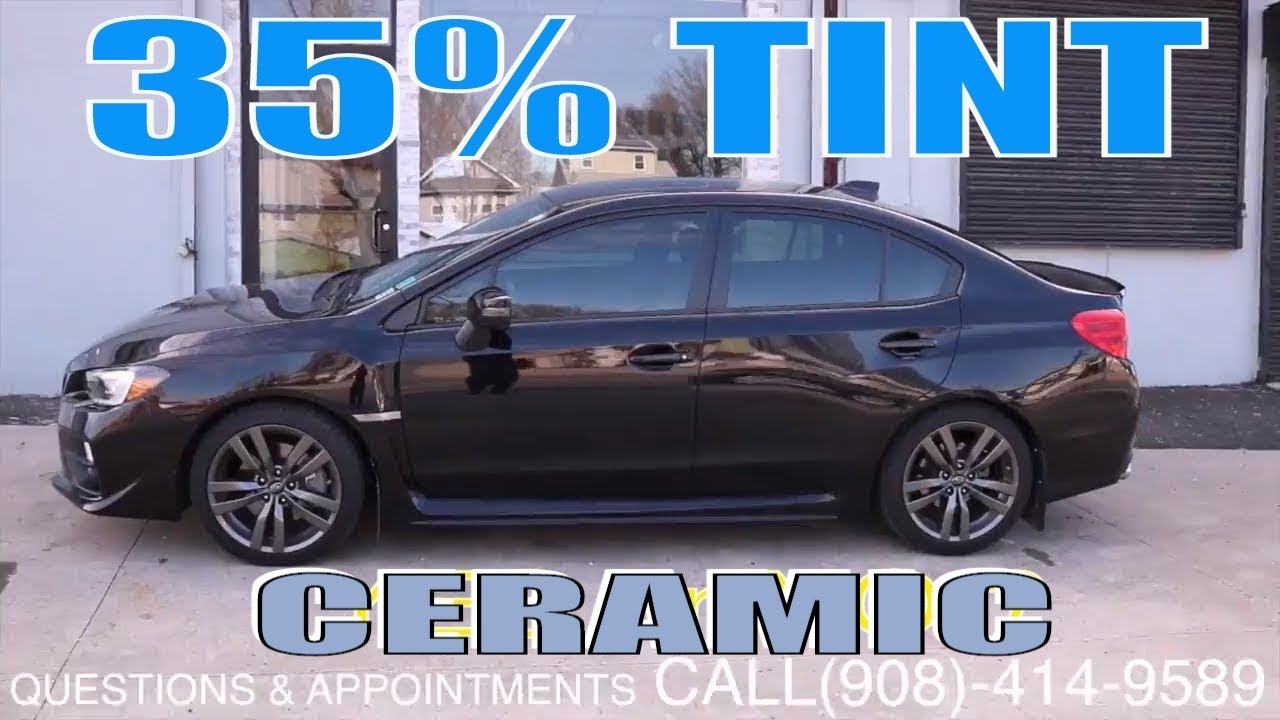 Tinting A 2017 Subaru Wrx In 35 Ceramic Film Winning