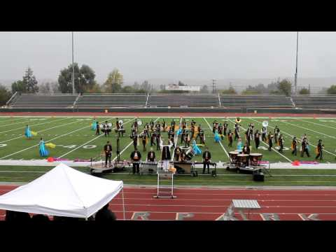 Cabrillo High School Marching band 2012 at Moorpark Battle of the Bands