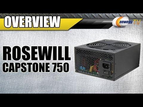 Newegg TV: Rosewill CAPSTONE Series Power Supplies Overview
