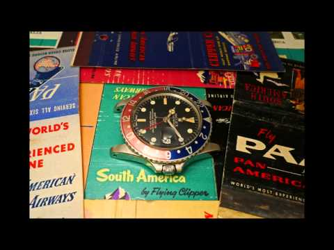 Pan Am and the Rolex GMT Master 6542 and 1675