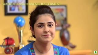 "Breakfast Recipe-walnut Cornflakes Chocó Balls (kellogg's Waale Guptaji, ""first Crush Wala Nashta"")"