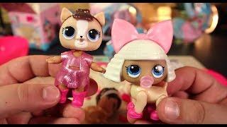 ТОП В одном Шаре Лол Две игрушки LOL Pets и Кукла ЛоЛ лучшая подделка L.O.L.  Surprise