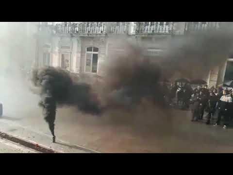 Lugo se tiñe de negro contra la violencia machista