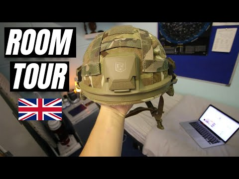 BRITISH ARMY SOLDIER'S - ROOM TOUR