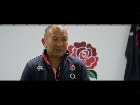 An interview with England Head Coach -  Eddie Jones