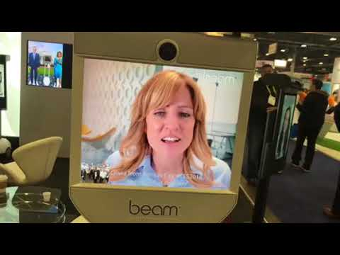 BEAM System For Remote Communcations At CES 2018 #CES2018