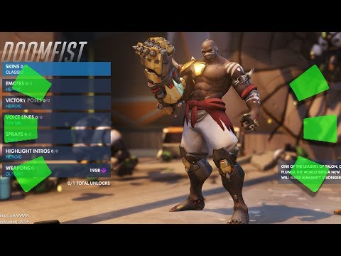 Overwatch - DOOMFIST GAMEPLAY