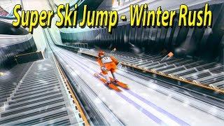 Super Ski Jump - Winter Rush симулятор прыжков с трамплина #мобильные игры