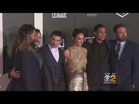 Hollywood Premiere Held For Highly Anticipated 'Justice League'