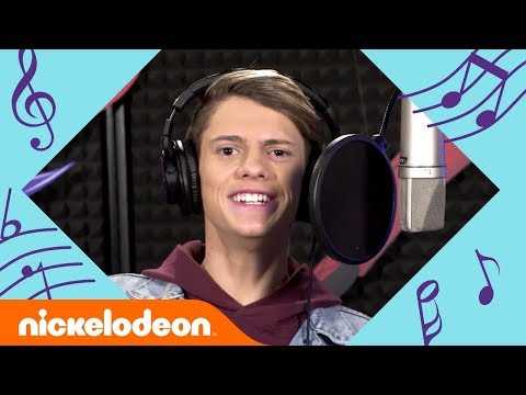 Jace Norman Sings The Adventures Of Kid Danger Theme Song W/ Cooper Barnes! 🎤 | #MusicMonday