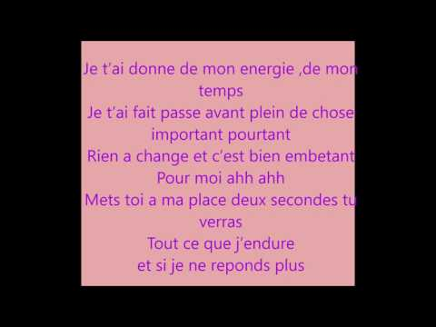 NEJ' - Mal à La Tête (paroles officiel)