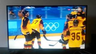 Eurosport Eishockey Kommentatoren flippen beim Deutschland 4:3 Kanada Sieg bei Olympia 2018 aus!