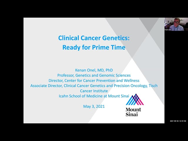 Clinical Cancer Genetics: Ready for Prime Time