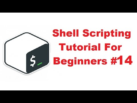 Shell Scripting Tutorial for Beginners 14 - Array variables