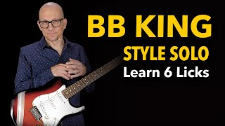 6 Sweet BB King Style Licks - Tasty & Authentic