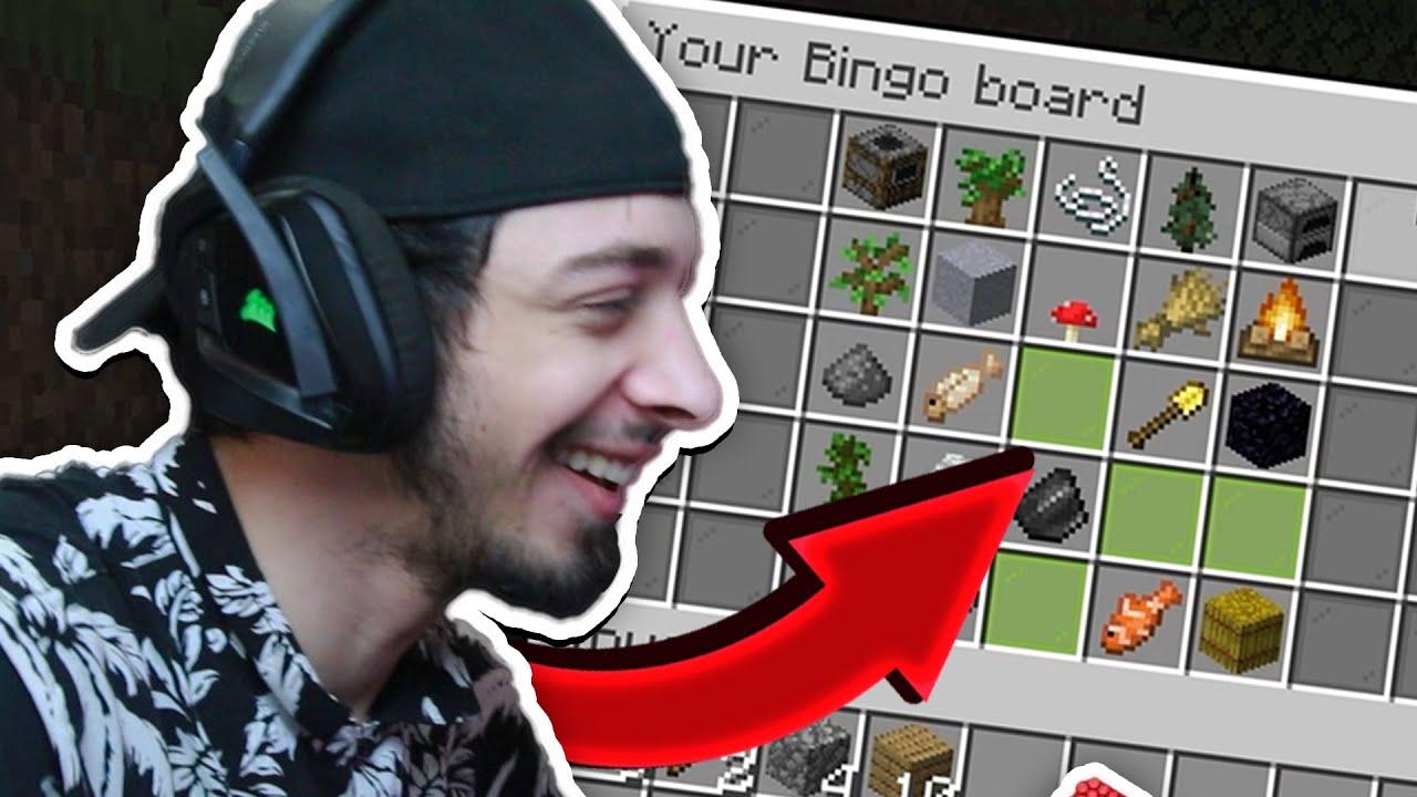 როგორ ვიპოვოთ ობსიდიანი?! | Minecraft Bingo