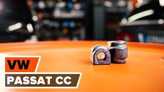 Ako a kedy meniť Gumy stabilizátora VW PASSAT CC (357): video sprievodca