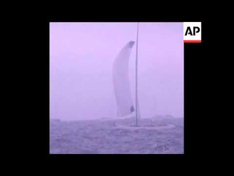 SYND 16/09/1970 AMERICAS CUP INTREPID BEATS GRETEL