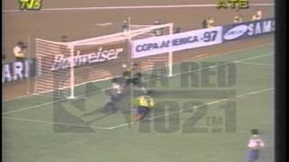 Copa Ame 97 Ecuador 2   Paraguay 0 A Graziani 2 0