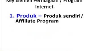 Perniagaan Internet dan Potensi Orang Malaysia
