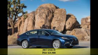 10 Luxury 2017 Cars Sedan Under $40,000