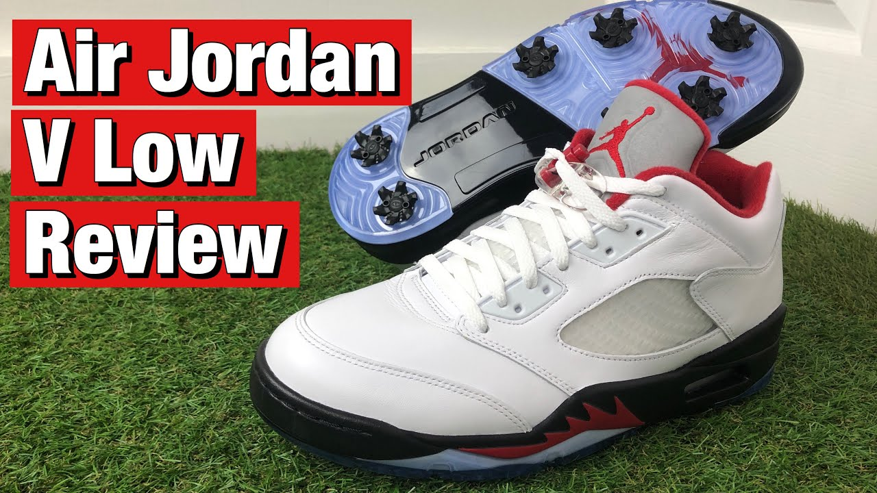 Air Jordan Golf Shoes Review In Depth On Feet Review Youtube