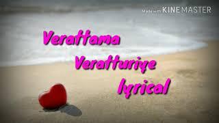 Veratama Veratturiye whatsapp lyric video