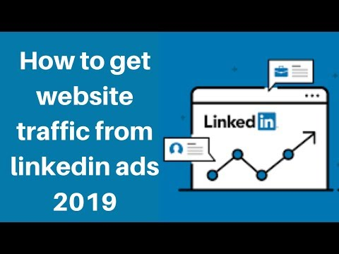 How to get website traffic from linkedin ads 2019 | Digital Marketing Tutorial thumbnail