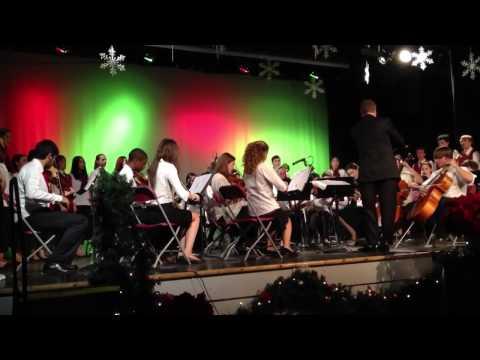 Portsmouth Christian Academy Christmas concert 12/13/12 par
